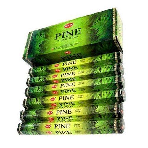 Hem Pine Incense stick,20 Sticks each- 6 pack - incensecentral.us