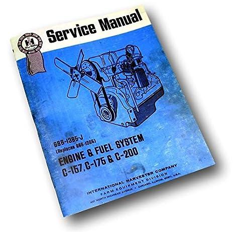 Farmall International Ih C 175 Gas Engine 350 Tractor