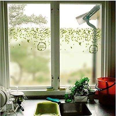 YFXGSTLI Vinilo Ventana Nueva Oficina Puerta Corredera Baño Cocina Sin Plástico Lámina De Vidrio Estática Pegatinas Papel De Encaje Decoración 60X90Cm: Amazon.es: Hogar