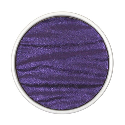 "Coliro Artist Mica Pearl Watercolor Paint, M009 Deep Purple (1.2"" Refil) by Finetec GmbH"
