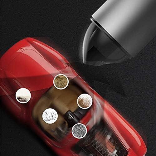 XJAXY Aspirateur à Main sans Fil à Vide Powered Charge Rapide à la Main Portable Tech, Mini aspirateur avec Aspiration Forte fo Accueil et Nettoyage de Voitures,Rouge