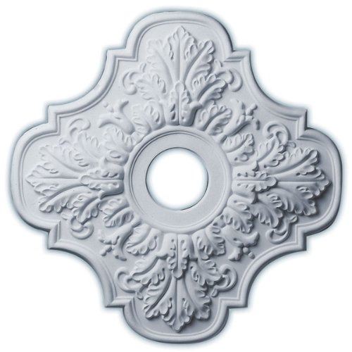 Peralta 17.75'' H x 17 3/4'' W x 1'' D Ceiling Medallion by Ekena Millwork (Image #1)
