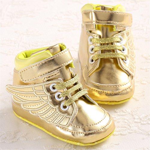 samber alas doradas para zapatos para caminar primera plateado plata Talla:13 dorado