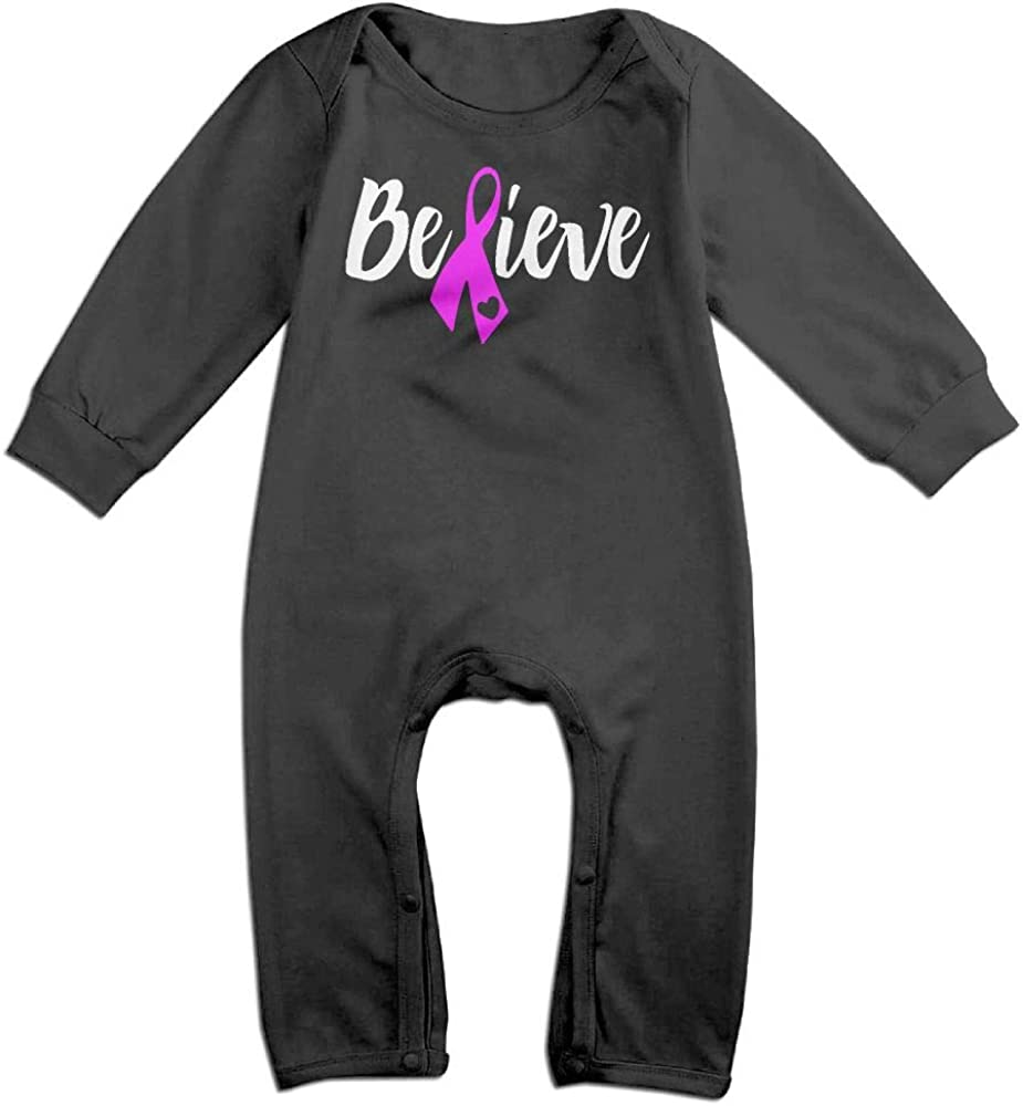 I Pink Wear Mom Breast Cancer Awareness Baby Unisex 100/% Organic Cotton Bodysuit Rompers 0-24M