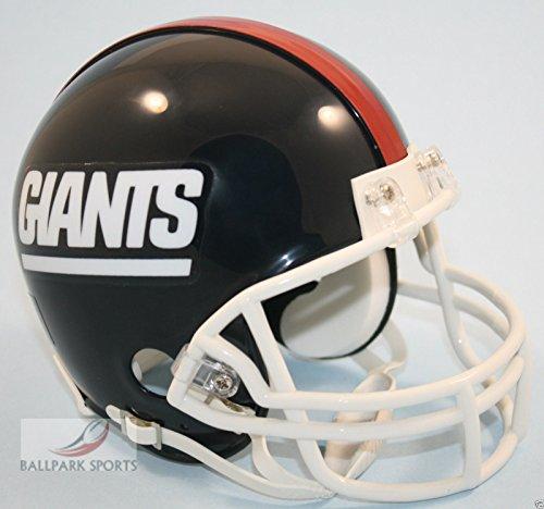 1999 Football Helmet - New York NY Giants 1981-1999 Throwback Riddell Mini Football Helmet - New in Riddell Box