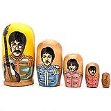 Beatles Sergeant Pepper Russian Nesting Handcrafted