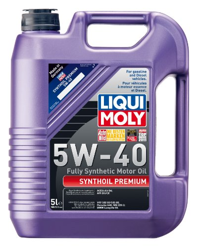 liqui moly 2041 premium 5w 40 synthetic motor oil 5. Black Bedroom Furniture Sets. Home Design Ideas