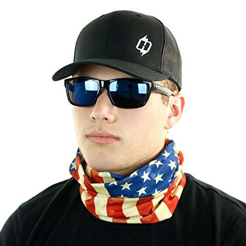 Old Glory American Flag - Old Glory American Flag Headband and Bandana