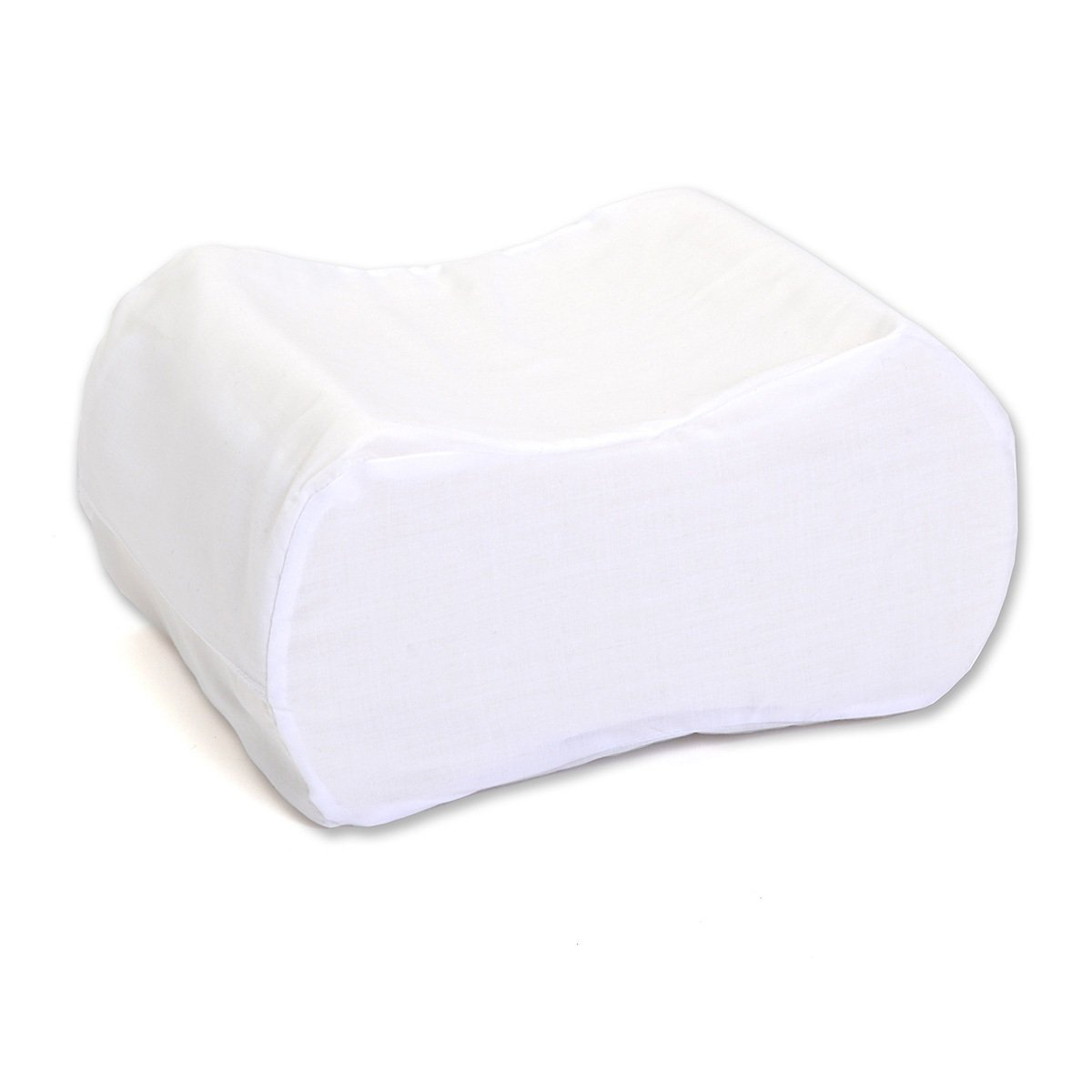 Hermell ProductsMemory Foam Knee Separator Cushion, White Terry by Hermell Products Inc.