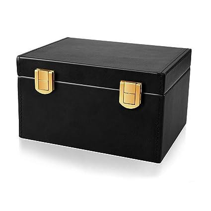 Faraday Caja para Coche Llaves, Cuero Señal Bloqueador Caja para ...
