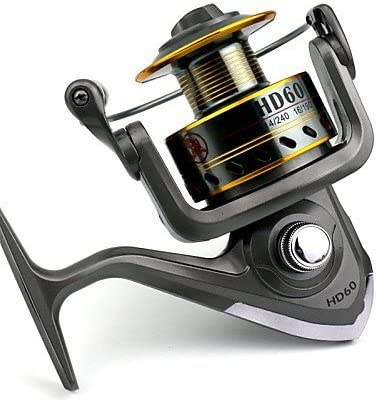 ZQ 7 bb Spinning Carrete Gear Ratio 4.7: 1 Metal Spinning carrete ...