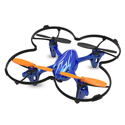 SKYKING Drone with HD Camera RC Quadcopter Mini Drone with Altitude Hold 2.4-GHz 6-Axis Gyro 3D Flips Headless Mode One Key Takeoff and Landing with Micro SD Card
