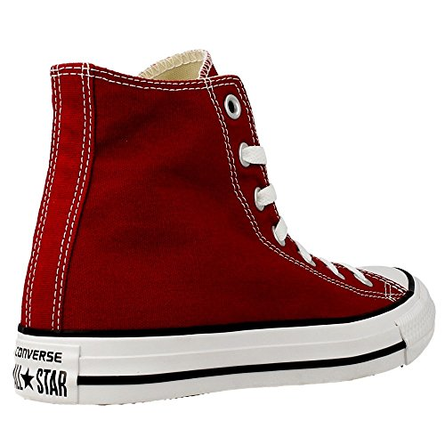 Converse - Chuck Taylor - 149512C - Color: Rojo burdeos - Size: 37.0