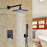 Led Rain Shower Head Set Votamuta Wall Mounted LED Lights 8