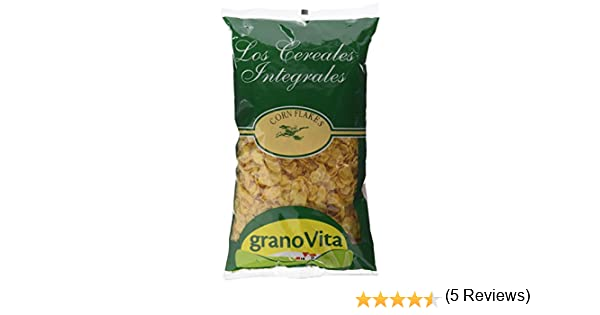 Granovita Corn Flakes sin Azucar Cereales - 350 gr: Amazon.es ...