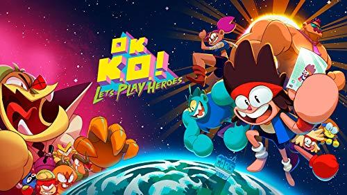 OK K.O.! Let's Play Heroes - Nintendo Switch [Digital Code] (Steven Universe Save The Light Nintendo Switch)