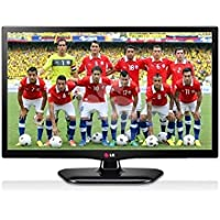 LG 20MT47 20 Multi System LED TV, Slim with PC Input & Free HDMI Cable, 110-240V
