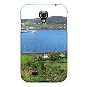 Galaxy S4 Hard Back With Bumper Silicone Gel Tpu Case Cover Uig Harbour