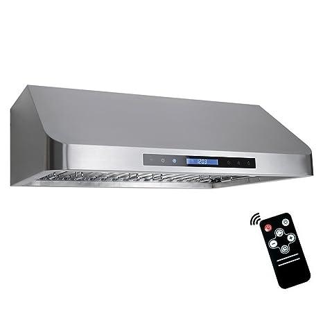 Amazon Com Cosmo Qs75 30 In Under Cabinet Range Hood 900 Cfm