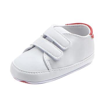 4449b83e8 Zapatos Bebé Primeros Pasos ❤ Amlaiworld Infantil Bebé Niña Niño Zapatos de  Cuna de Suela Blanda Sneaker Zapatilla de Prewalker Recién Nacido Zapatilla  ...
