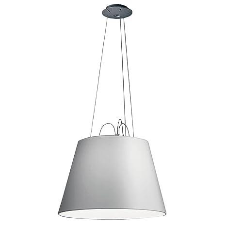 Artemide Tolomeo lámpara de techo E27, 150 W, aluminio/Raso ...