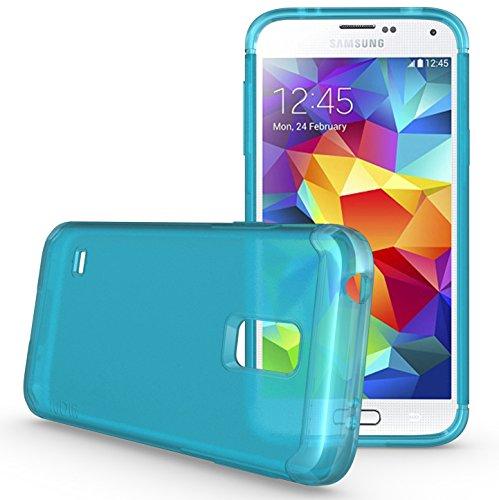 TUDIA LITE TPU Bumper Protective Case for Samsung Galaxy S5 Mini For S5 Mini Version ONLY (Teal) (Samsung Galaxy S5 Mini Tough Case)