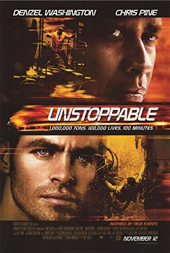 Unstoppable 2010 D/S Rolled Movie Poster 27x40 ()