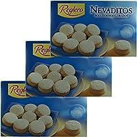 3x Reglero Nevaditos 'Blätterteiggebäck mit Puderzucker', 400 g