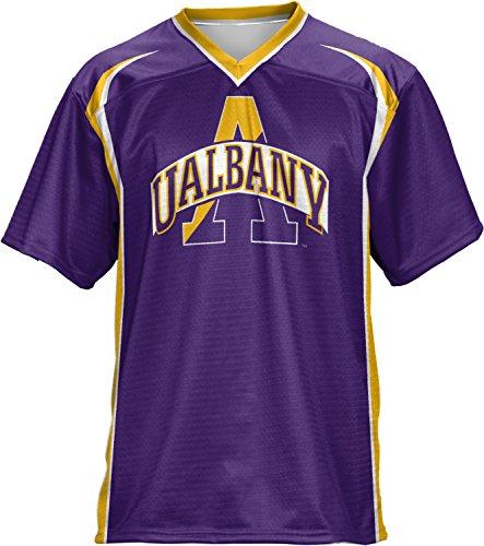ProSphere Men's University at Albany Wild Horse Football Fan Jersey - Shopping Albany Ny