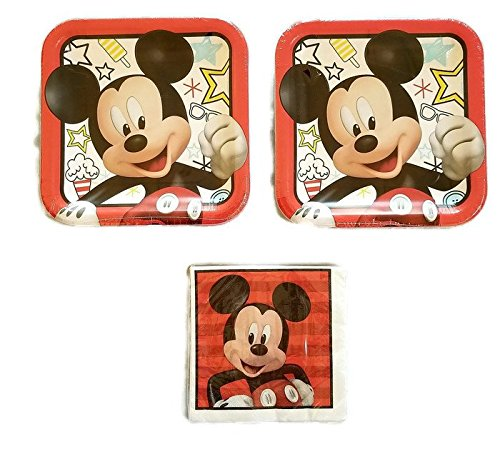 Mickey Mouse On The Go Party Bundle 9