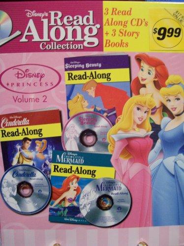 Disney's Read Along Collection Princess Vol. 2: Sleeping Beauty, Cinderella, The Little Mermaid