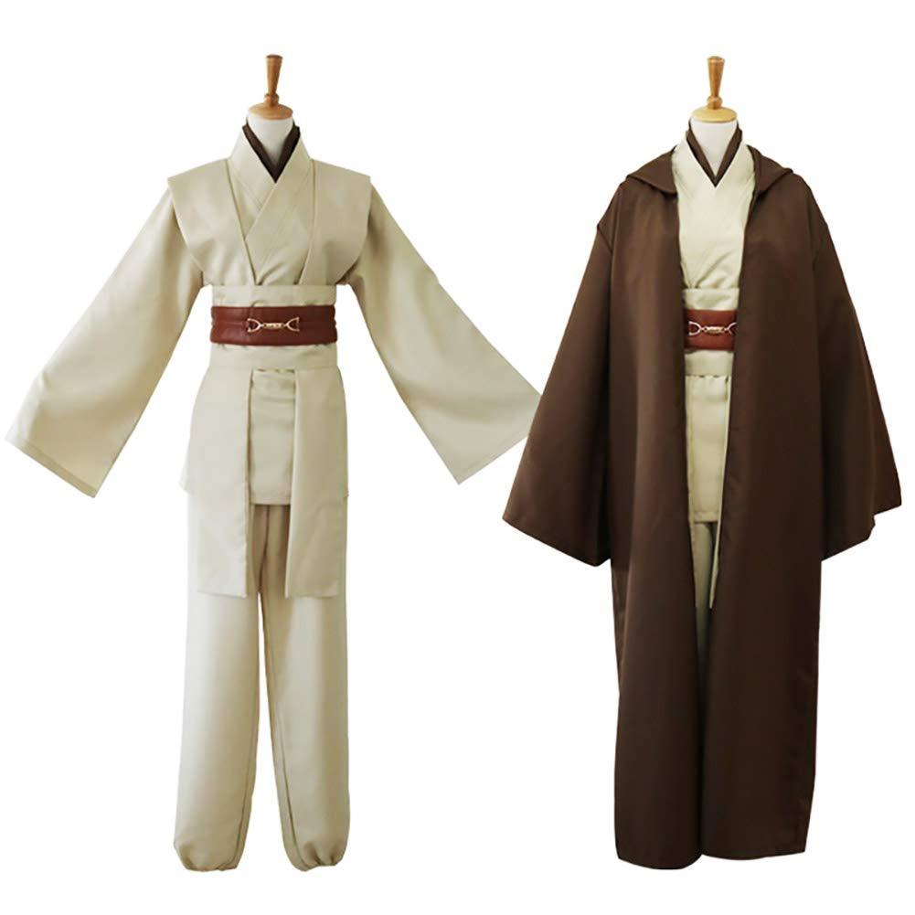 Yeming5704 Star Wars OBI-WAN Kenobi Jedi Traje Halloween ...