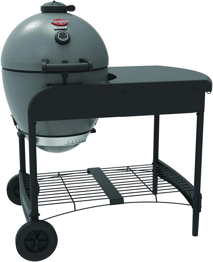 Char-Griller E6520 Akorn Kamado Charcoal Grill with Cart
