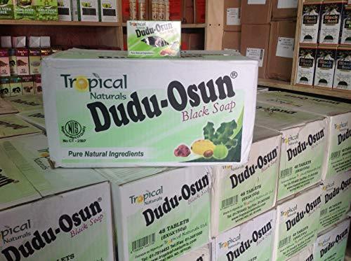 Dudu Osun African Black Soap 48 Pack ($1.75 per soap bar)!