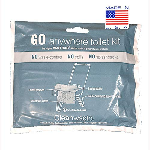 - Go Anywhere Toilet Kit 12-pack