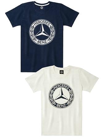 2d90695dc Mercedes Benz Men's Classic T-Shirt (Medium, Navy) | Amazon.com
