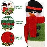 MIDOLO 3 Piece Set Christmas Snowman Refrigerator