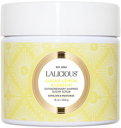 LALICIOUS - Sugar Lemon Blossom Extraordinary Whipped Sugar Scrub - 16 (Lemon Sugar Scrub)