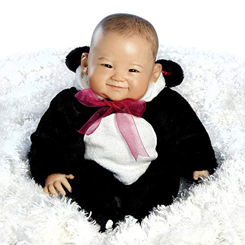 Paradise Galleries Reborn Asian Baby Doll, 20 inch Realistic Girl Doll Su-lin in GentleTouch Vinyl & Weighted Body