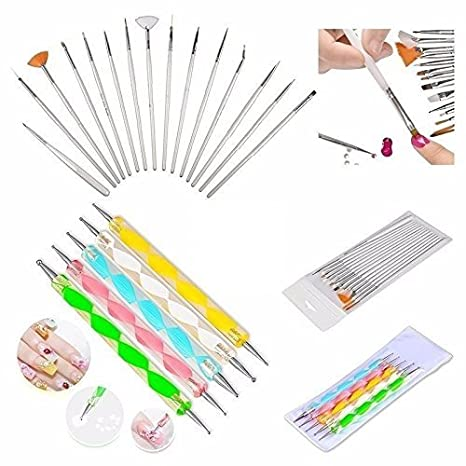 Buy Foolzy Foo Na A1 Nail Art Brush Pen 20 Pieces Online At Low