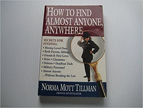 Book How to Find Almost Anyone, Anywhere