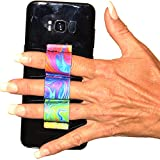 LAZY-HANDS 3-Loop Phone Grip - FITS MOST - Oil Paints