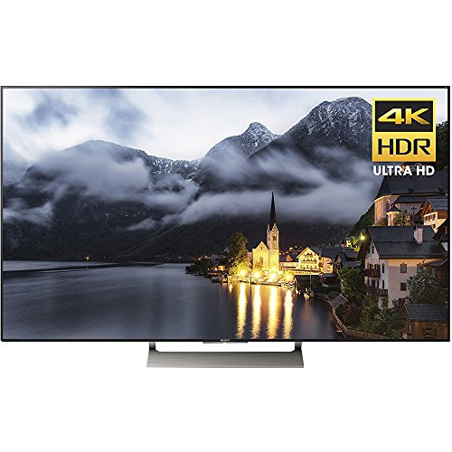 Sony XBR55X900E 55-Inch 4K Ultra HD Smart LED TV (2017 Model), Works with Alexa Hybrid Full Range