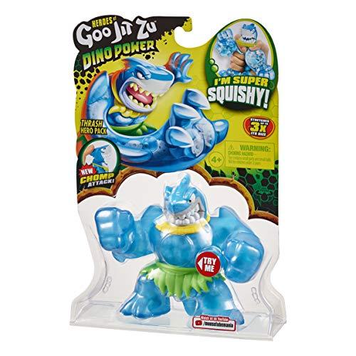 Heroes of Goo Jit Zu Dino Power, Action Figure - Thrash The Shark