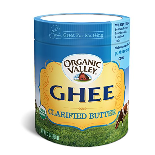 Organic Valley Organic Ghee, Clarified Butter Oil (13 Ounces) by Organic Valley