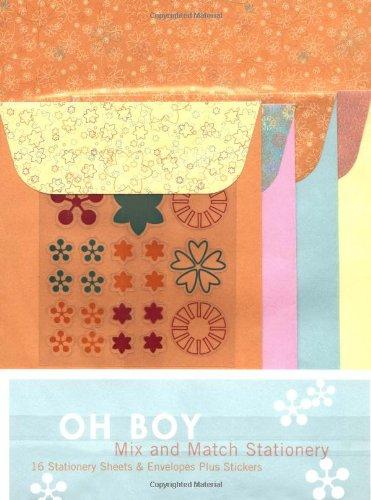 Oh Boy Mix and Match Stationery pdf
