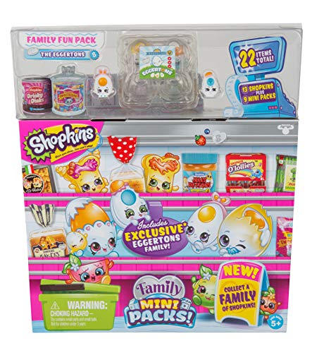 Shopkins New Families in Collectible Mini Pack - 22Piece from Shopkins