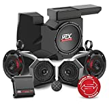 2016 to 2017 Polaris RZR XP4 Turbo Bluetooth Enabled Four Speaker, Dual Amplifier, and Single Subwoofer Audio System By MTX Audio RZRBT4