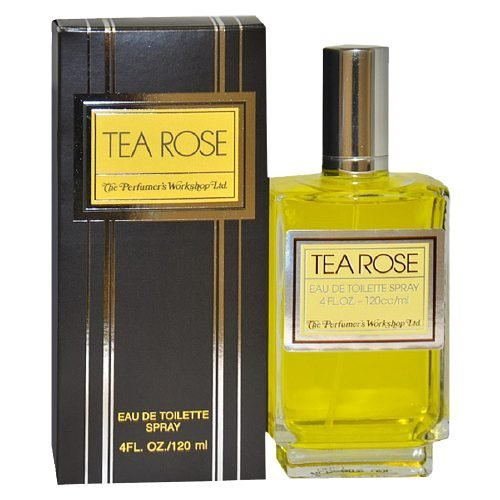 - Perfumers Workshop Tea Rose Eau de Toilette Spray for Women 4 fl oz(120 ml)