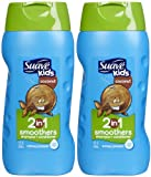 suave kids conditioner - Suave Kids 2-in-1 Shampoo & Conditioner - Cowabunga Coconut - 12 oz - 2 pk